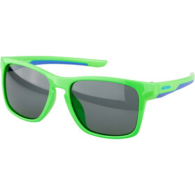 Alpina Flexxy Cool Kids I Glasses Kids, neon green/blue/black mirror